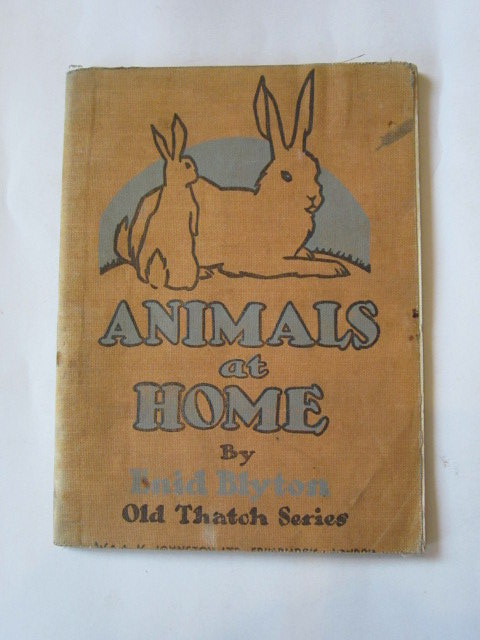 Photo of ANIMALS AT HOME written by Blyton, Enid illustrated by Stevens,  published by W. & A.K. Johnston Limited (STOCK CODE: 1306534)  for sale by Stella & Rose's Books