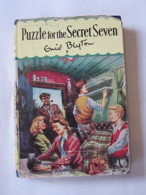 Photo of PUZZLE FOR THE SECRET SEVEN- Stock Number: 1306741