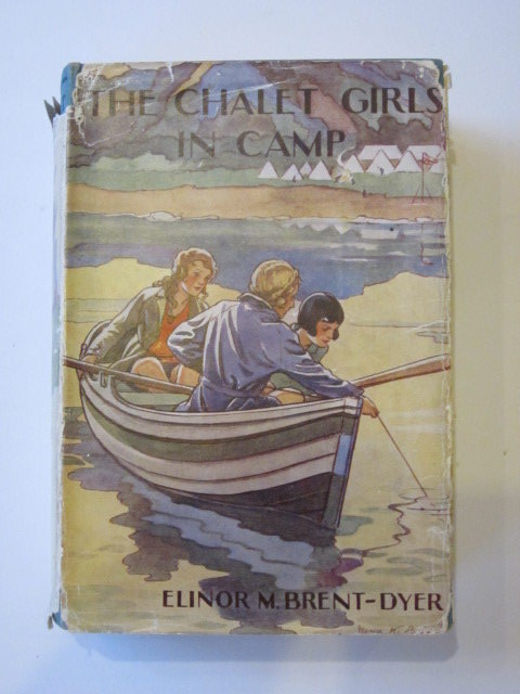 Photo of THE CHALET GIRLS IN CAMP written by Brent-Dyer, Elinor M. illustrated by Brisley, Nina K. published by W. & R. Chambers Limited (STOCK CODE: 1306895)  for sale by Stella & Rose's Books