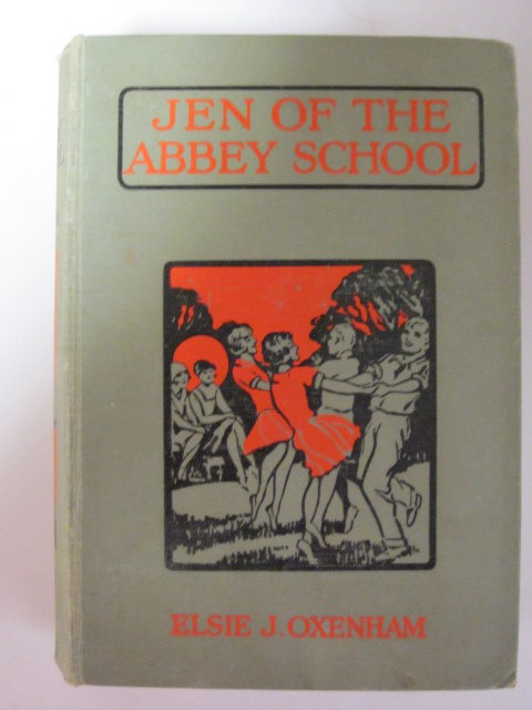 Photo of JEN OF THE ABBEY SCHOOL written by Oxenham, Elsie J. illustrated by Meyerheim, Florence published by Collins Clear-Type Press (STOCK CODE: 1307247)  for sale by Stella & Rose's Books