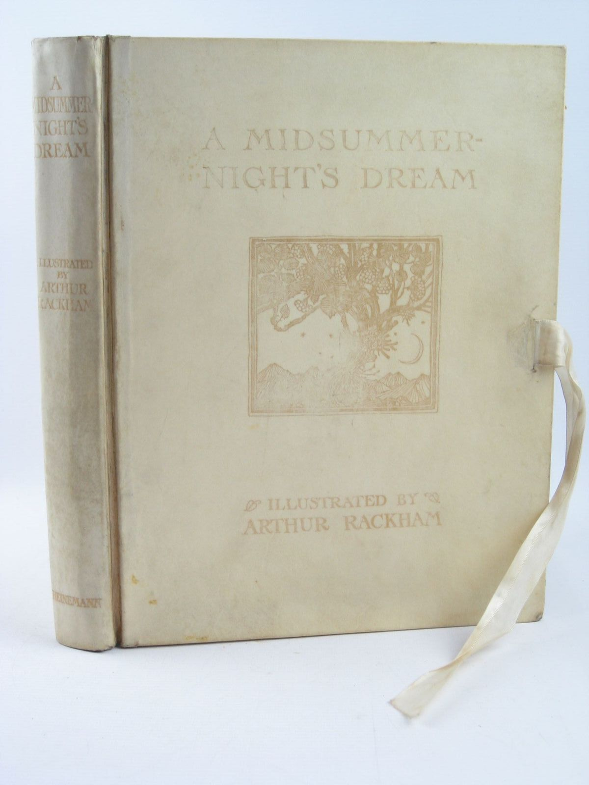 Photo of A MIDSUMMER-NIGHT'S DREAM written by Shakespeare, William illustrated by Rackham, Arthur published by William Heinemann Ltd. (STOCK CODE: 1307918)  for sale by Stella & Rose's Books