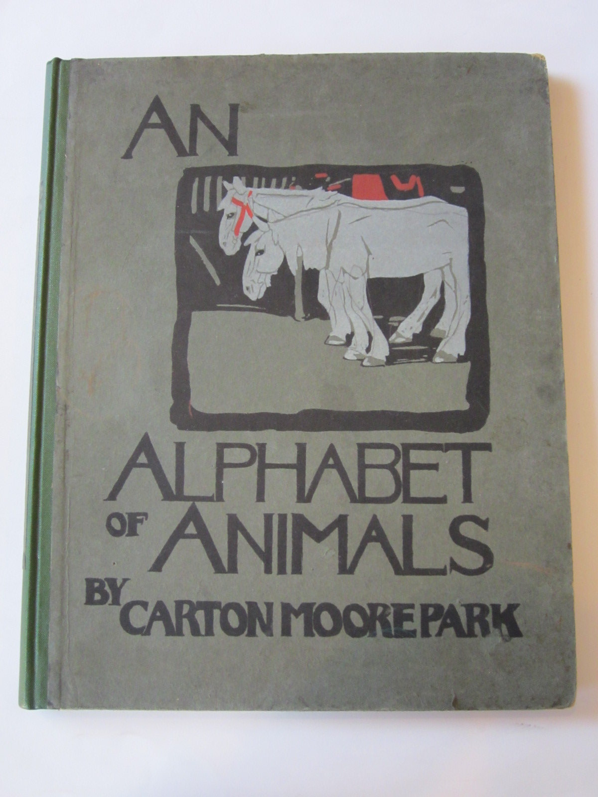 Photo of AN ALPHABET OF ANIMALS illustrated by Moorepark, Carton published by Blackie & Son Ltd. (STOCK CODE: 1307920)  for sale by Stella & Rose's Books