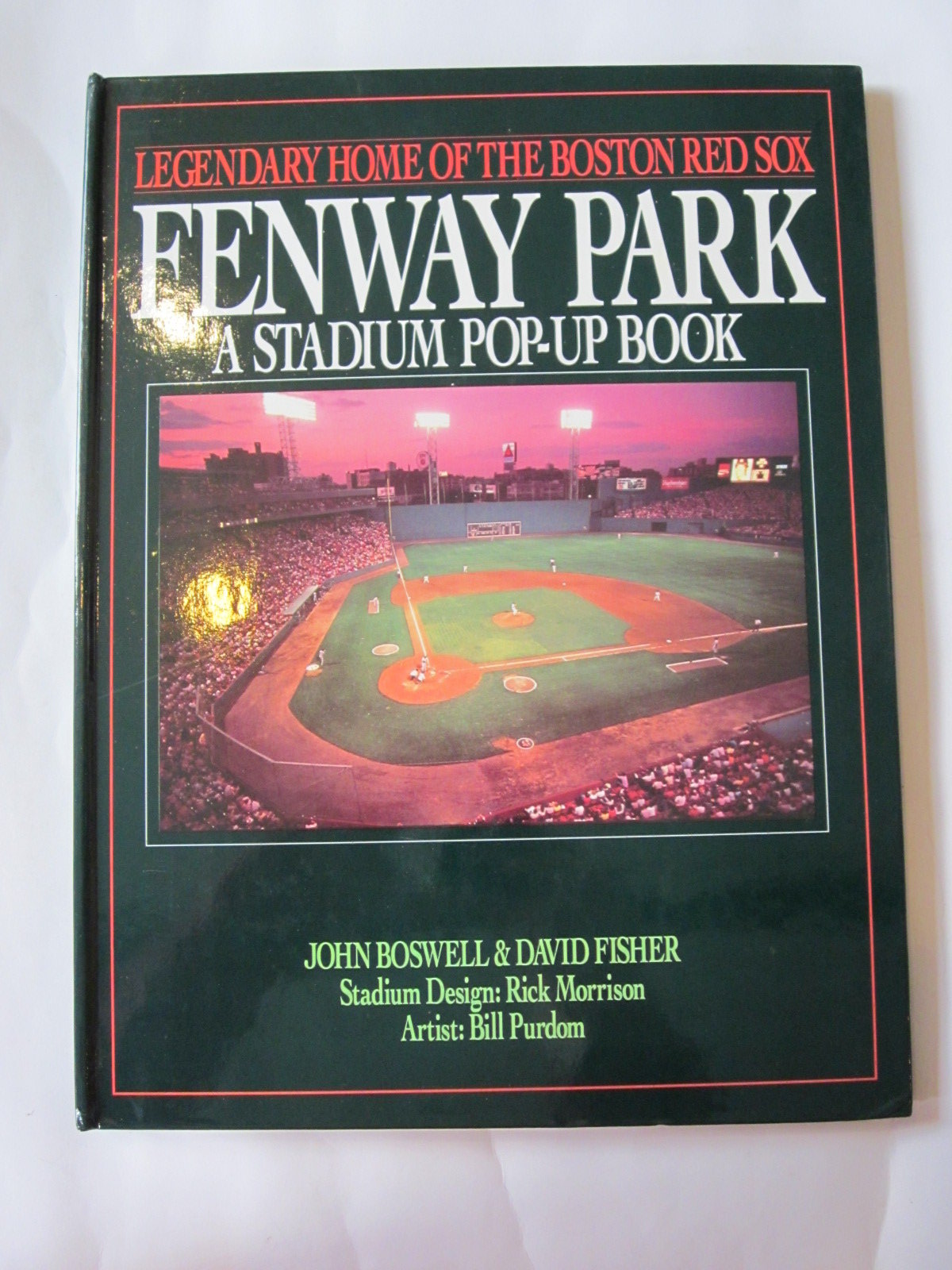 Photo of FENWAY PARK - A STADIUM POP-UP BOOK written by Boswell, John<br />Fisher, David illustrated by Purdom, Bill published by Little, Brown and Company (STOCK CODE: 1308053)  for sale by Stella & Rose's Books