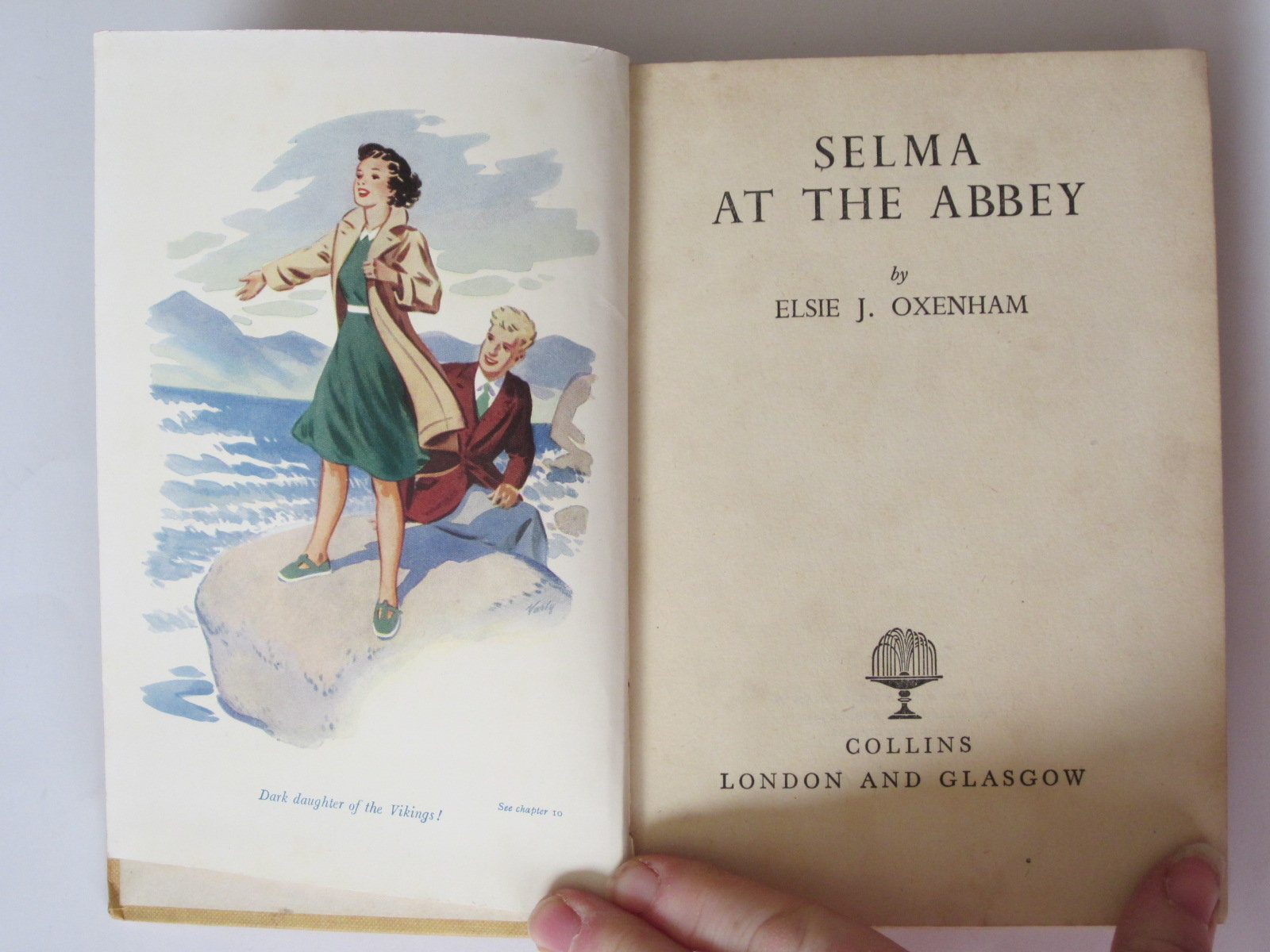 Photo of SELMA AT THE ABBEY written by Oxenham, Elsie J. published by Collins (STOCK CODE: 1308120)  for sale by Stella & Rose's Books