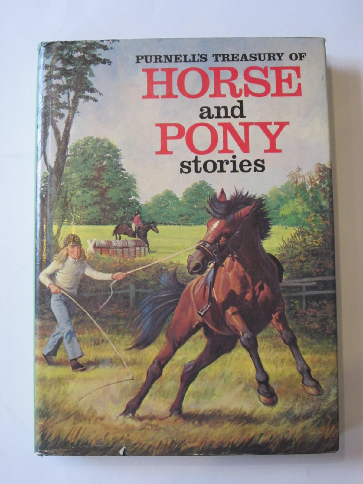 Photo of PURNELL'S TREASURY OF HORSE AND PONY STORIES written by Baldock, Dorothy<br />Cummings, Primrose<br />Haylor, Sally published by Purnell (STOCK CODE: 1308154)  for sale by Stella & Rose's Books