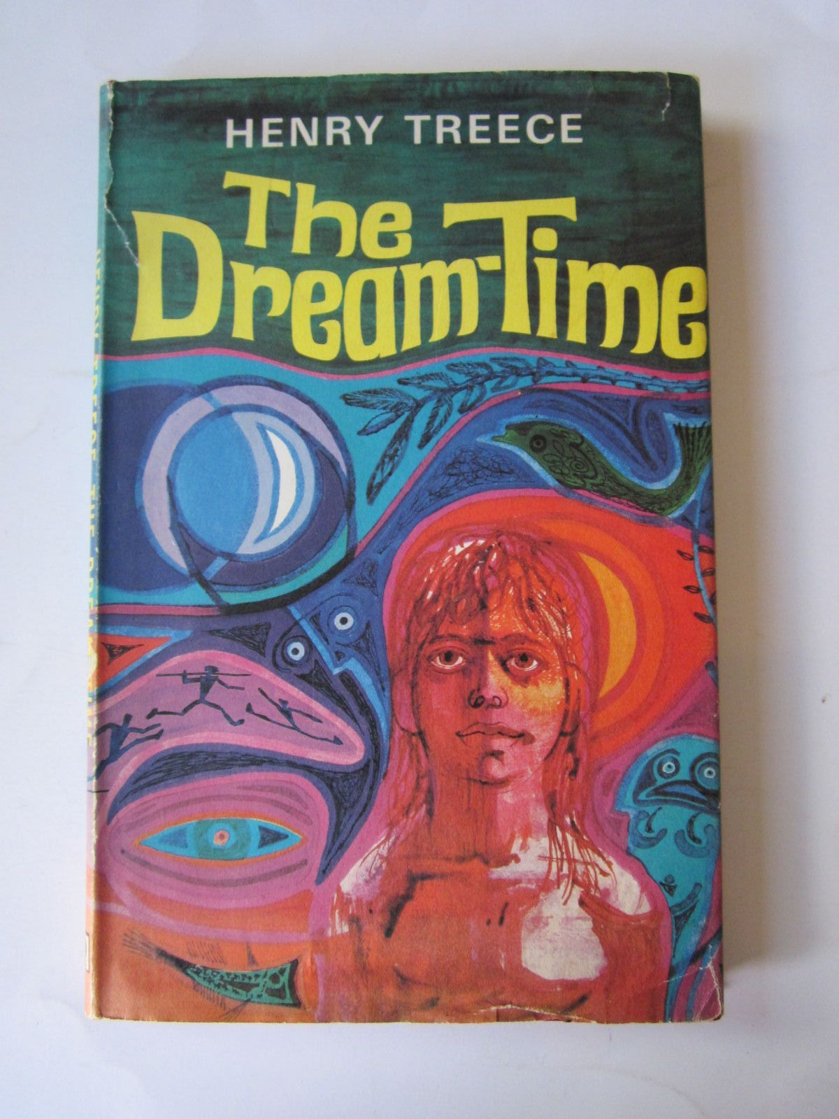 Photo of THE DREAM-TIME written by Treece, Henry illustrated by Keeping, Charles published by Brockhampton Press (STOCK CODE: 1308674)  for sale by Stella & Rose's Books