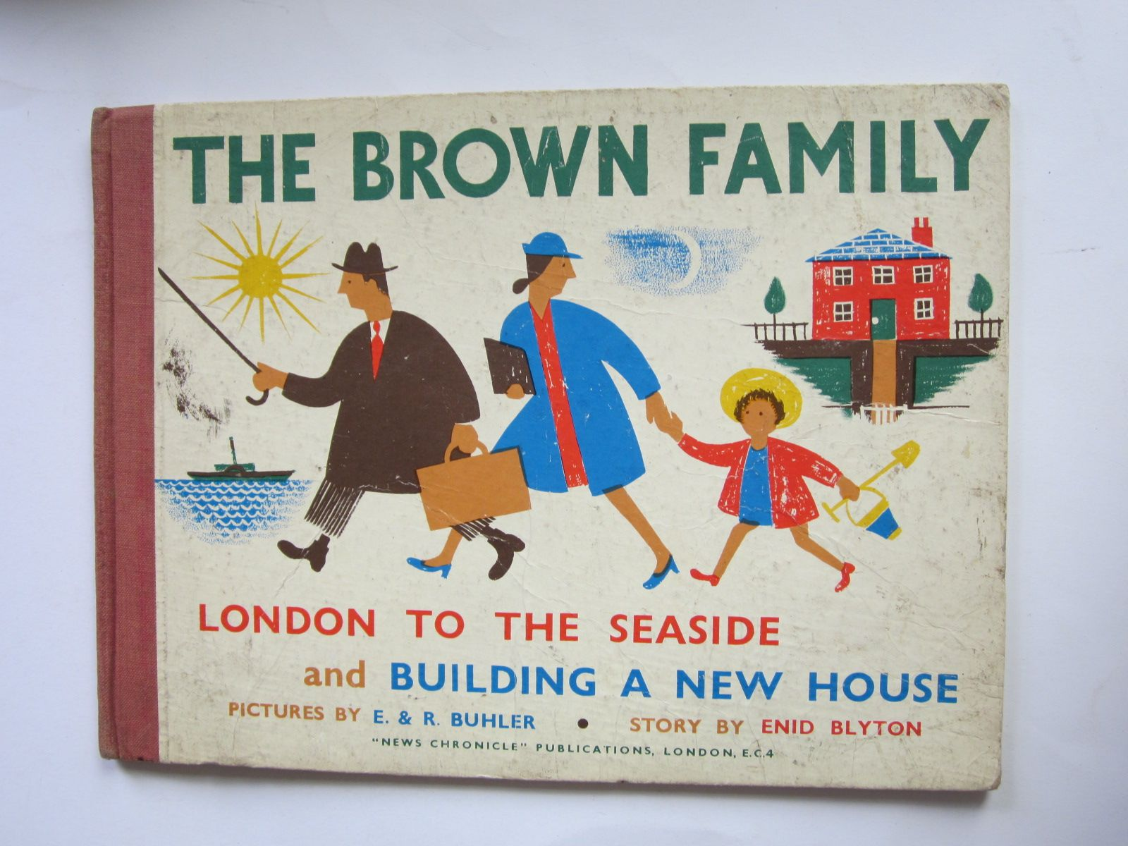 Photo of THE BROWN FAMILY written by Blyton, Enid illustrated by Buhler, E.<br />Buhler, R. published by News Chronicle (STOCK CODE: 1309078)  for sale by Stella & Rose's Books