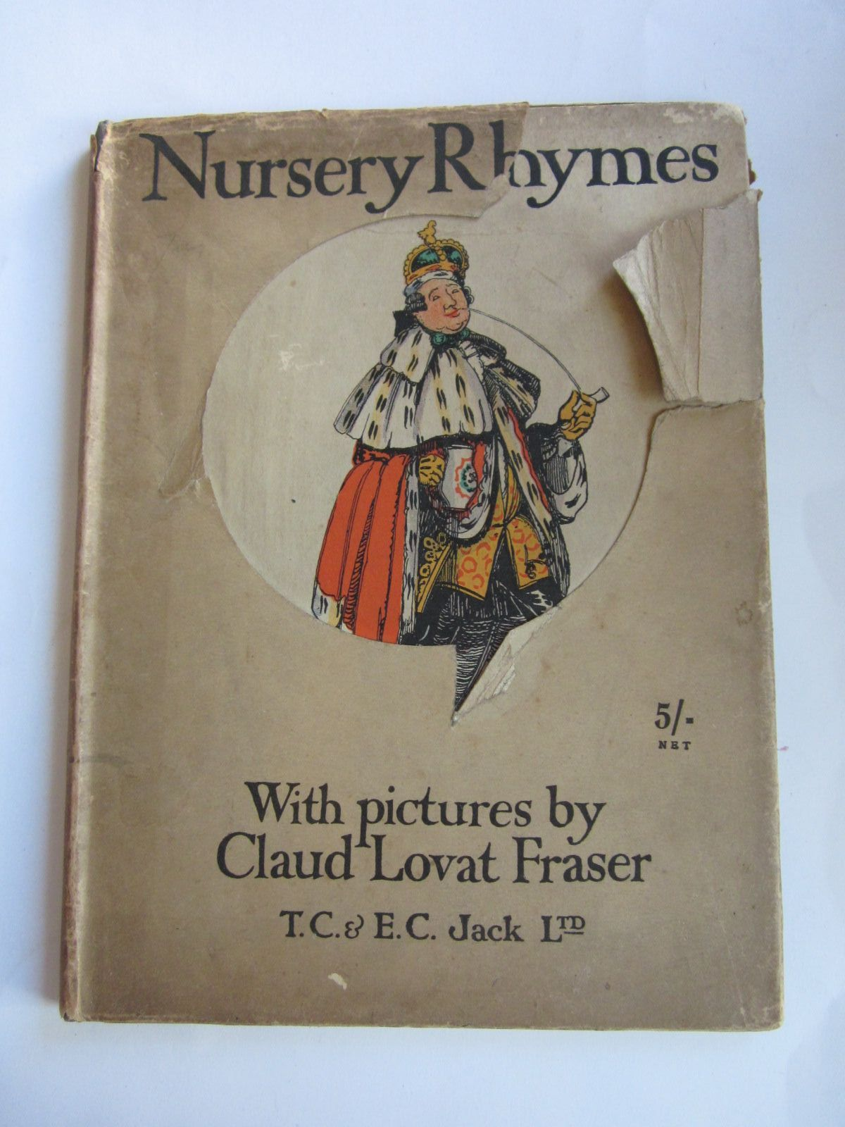 Photo of NURSERY RHYMES illustrated by Fraser, Claude Lovat published by T.C. & E.C. Jack (STOCK CODE: 1309096)  for sale by Stella & Rose's Books