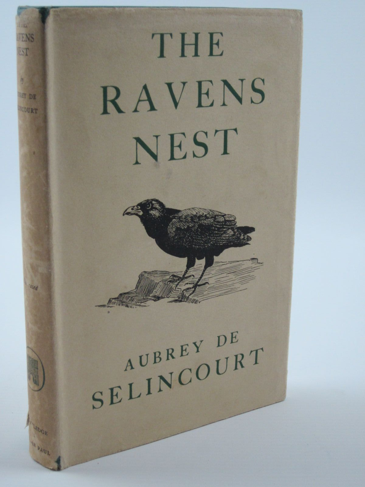Photo of THE RAVENS NEST written by De Selincourt, Aubrey illustrated by De Selincourt, Guy published by Routledge & Kegan Paul (STOCK CODE: 1309288)  for sale by Stella & Rose's Books