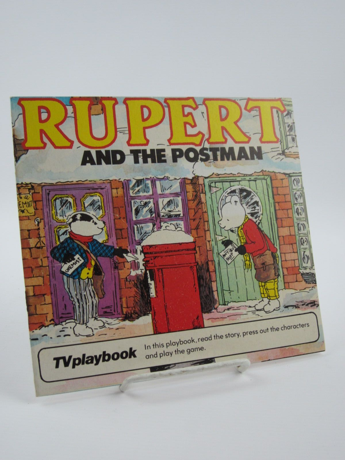 Photo of RUPERT AND THE POSTMAN written by Wells, Mick illustrated by Wells, Mick published by Michael Stanfield Holdings (STOCK CODE: 1309529)  for sale by Stella & Rose's Books