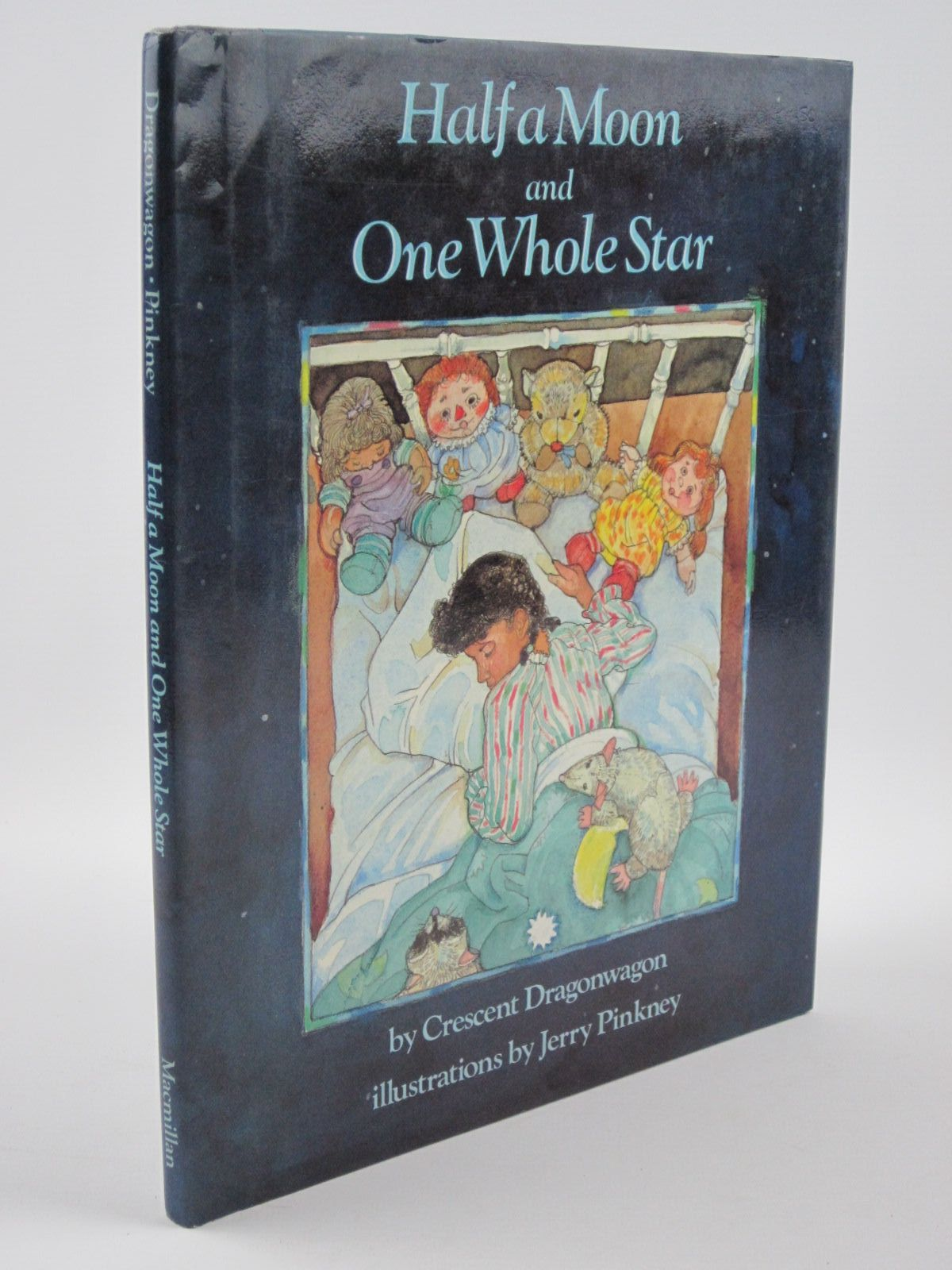 Photo of HALF A MOON AND ONE WHOLE STAR written by Dragonwagon, Crescent illustrated by Pinkney, Jerry published by Macmillan Publishing Co. (STOCK CODE: 1309540)  for sale by Stella & Rose's Books