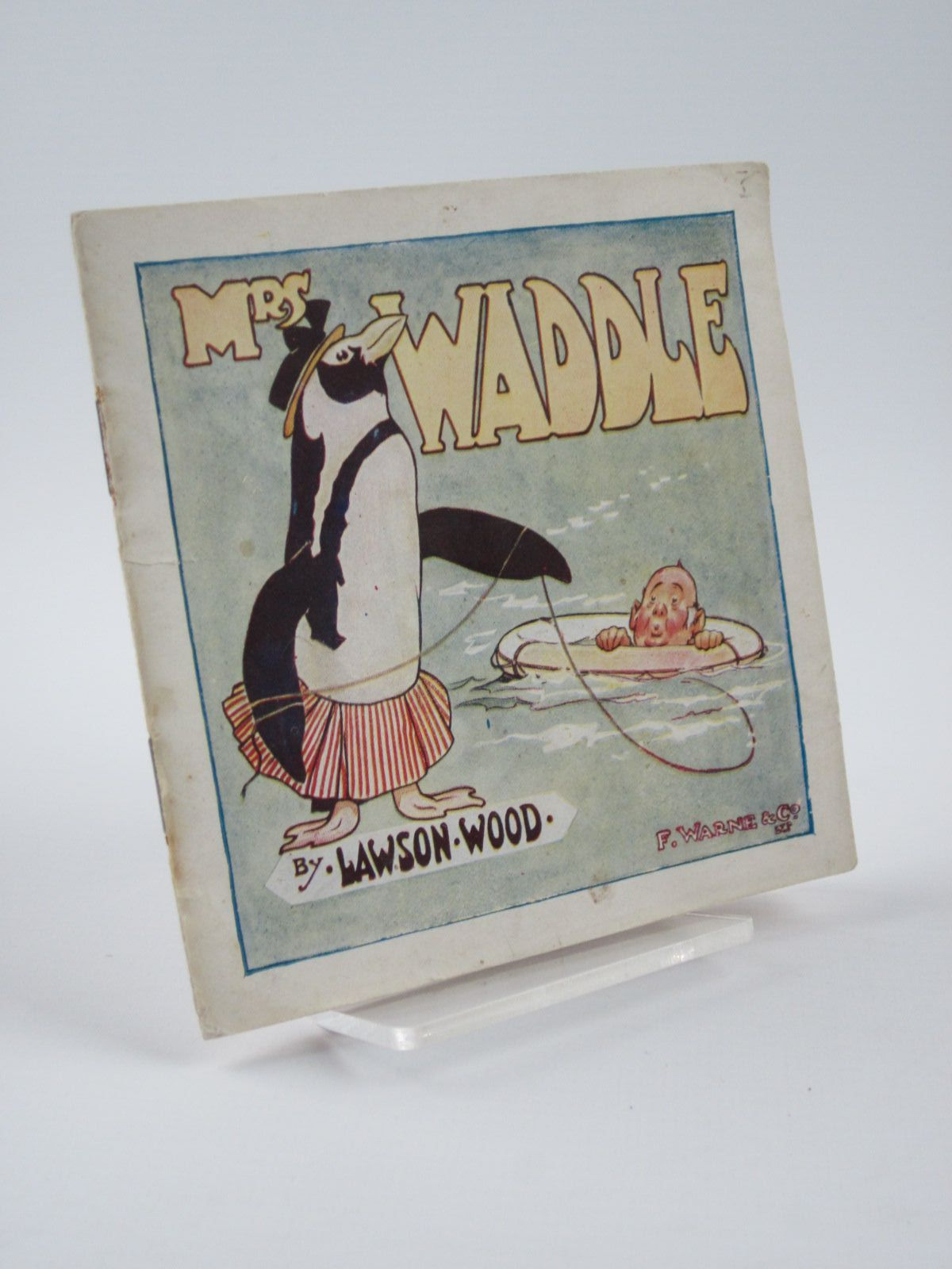 Photo of MRS WADDLE HOW SHE MAKES A FORTUNE written by Wood, Lawson illustrated by Wood, Lawson published by Frederick Warne & Co Ltd. (STOCK CODE: 1309550)  for sale by Stella & Rose's Books