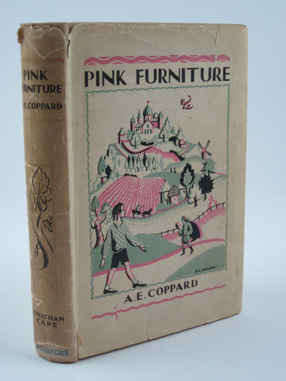 Photo of PINK FURNITURE written by Coppard, A.E. illustrated by Gurney, Nancy Bankart published by Jonathan Cape (STOCK CODE: 1309581)  for sale by Stella & Rose's Books