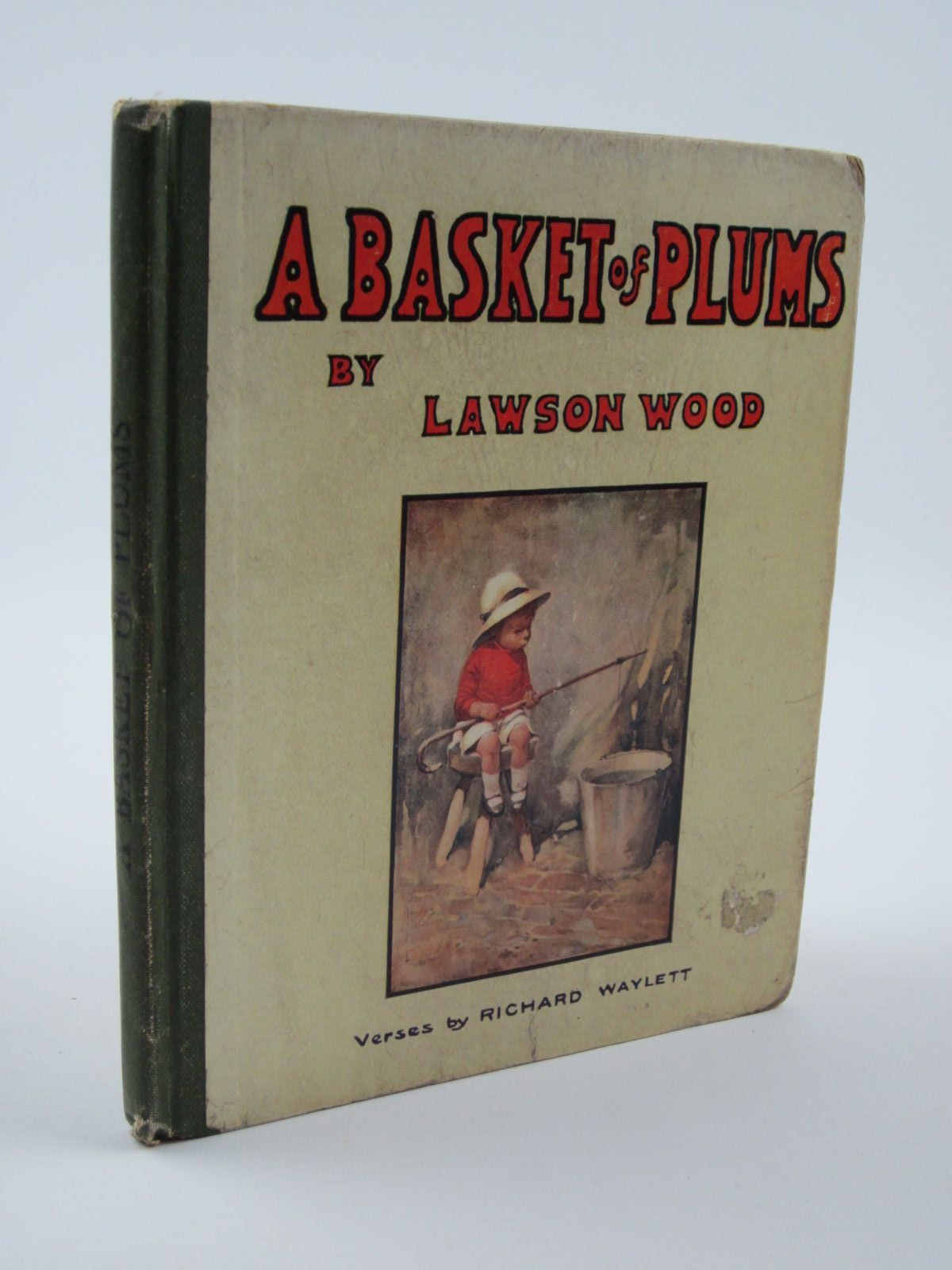 Photo of A BASKET OF PLUMS written by Waylett, Richard illustrated by Wood, Lawson published by Gale & Polden, Ltd. (STOCK CODE: 1309666)  for sale by Stella & Rose's Books