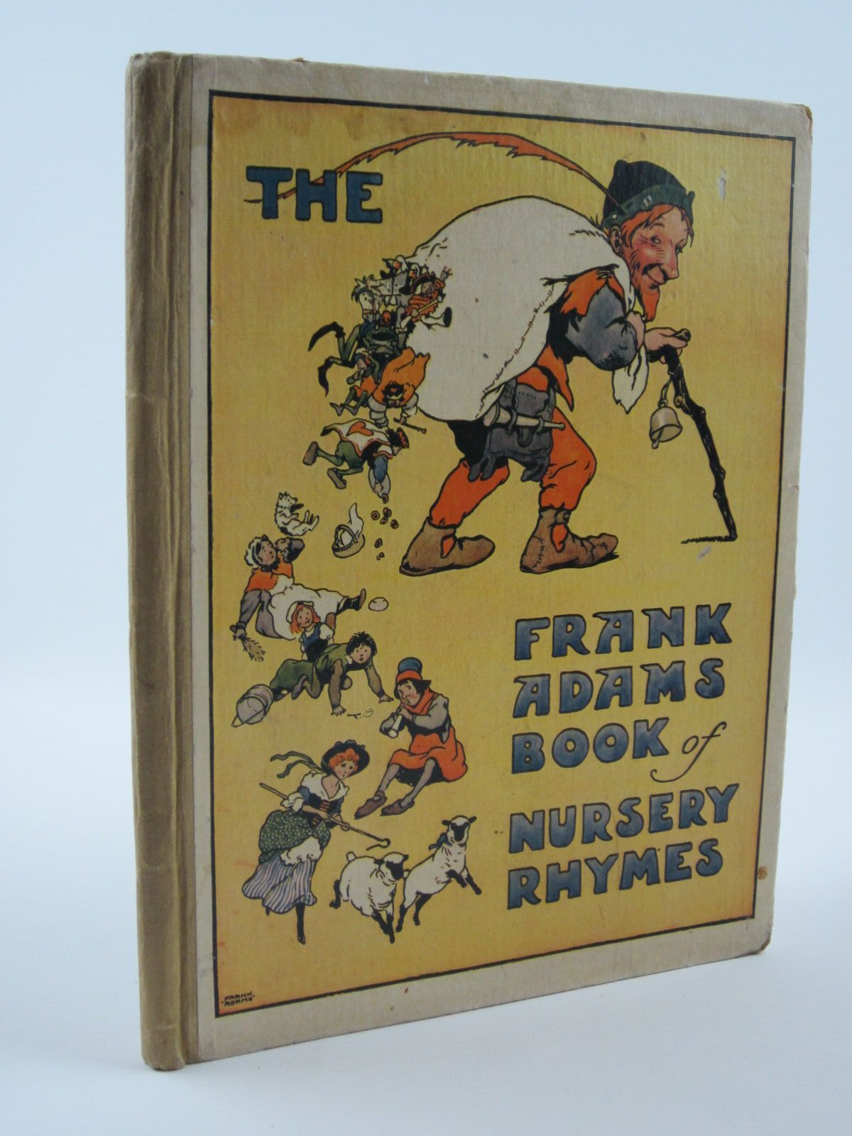 Photo of THE FRANK ADAMS BOOK OF NURSERY RHYMES illustrated by Adams, Frank published by Blackie & Son Ltd. (STOCK CODE: 1309671)  for sale by Stella & Rose's Books