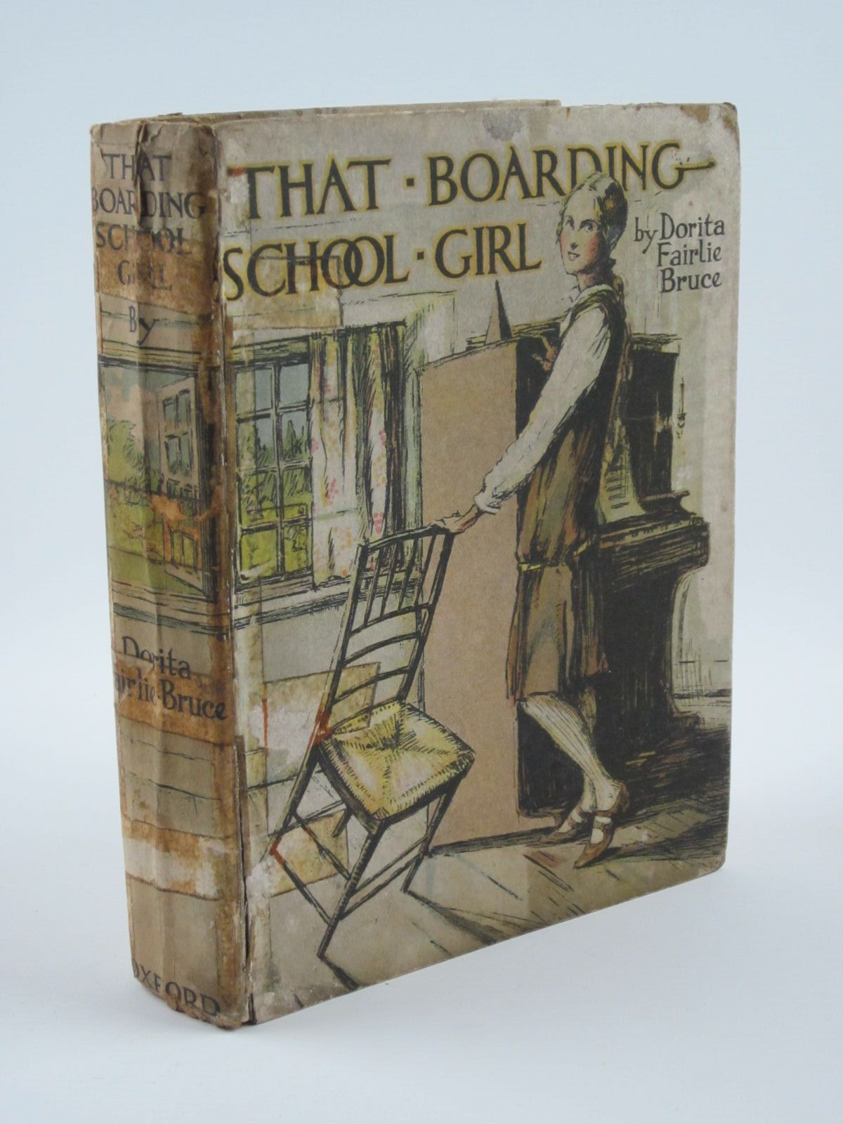 Photo of THAT BOARDING-SCHOOL GIRL written by Bruce, Dorita Fairlie illustrated by Brock, R.H. published by Oxford University Press, Humphrey Milford (STOCK CODE: 1309762)  for sale by Stella & Rose's Books