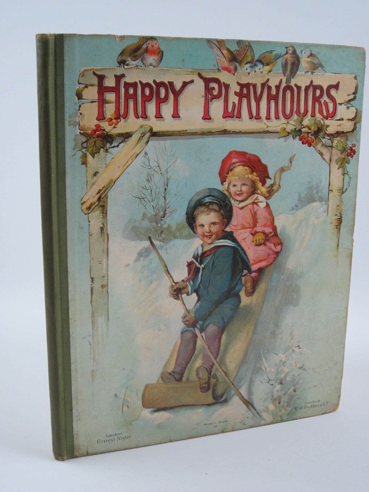 Photo of HAPPY PLAYHOURS written by Haskell, L.<br />Wood, Helen J.<br />et al, illustrated by Rainey, W.<br />et al., published by Ernest Nister (STOCK CODE: 1309802)  for sale by Stella & Rose's Books