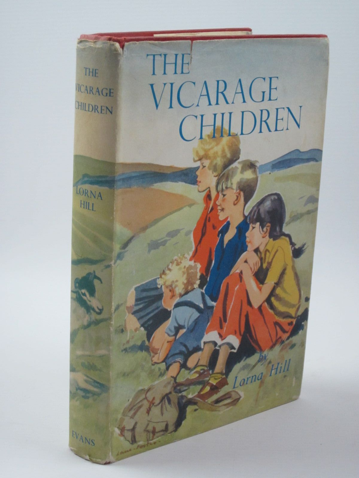 Photo of THE VICARAGE CHILDREN written by Hill, Lorna illustrated by Foster, Marcia Lane published by Evans Brothers Limited (STOCK CODE: 1309929)  for sale by Stella & Rose's Books