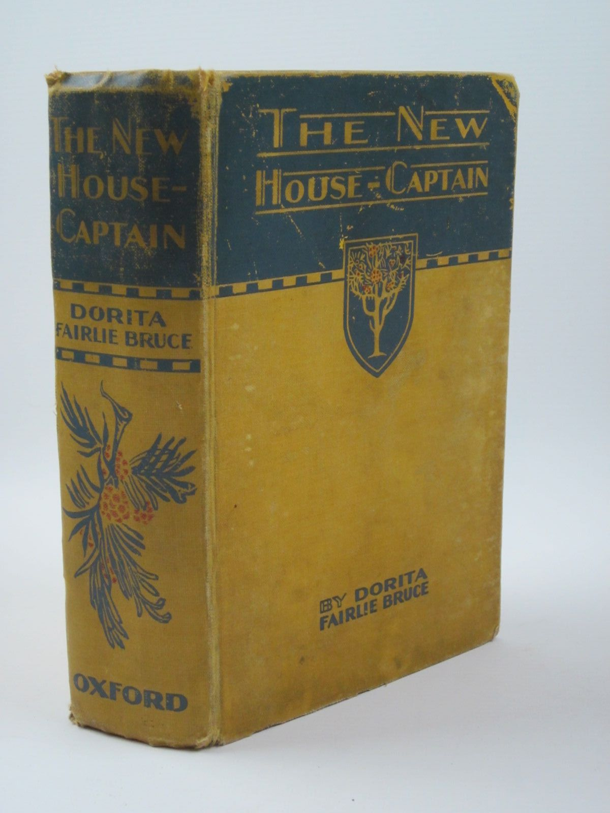 Photo of THE NEW HOUSE CAPTAIN written by Bruce, Dorita Fairlie illustrated by Reeve, Mary Strange published by Humphrey Milford, Oxford University Press (STOCK CODE: 1309965)  for sale by Stella & Rose's Books