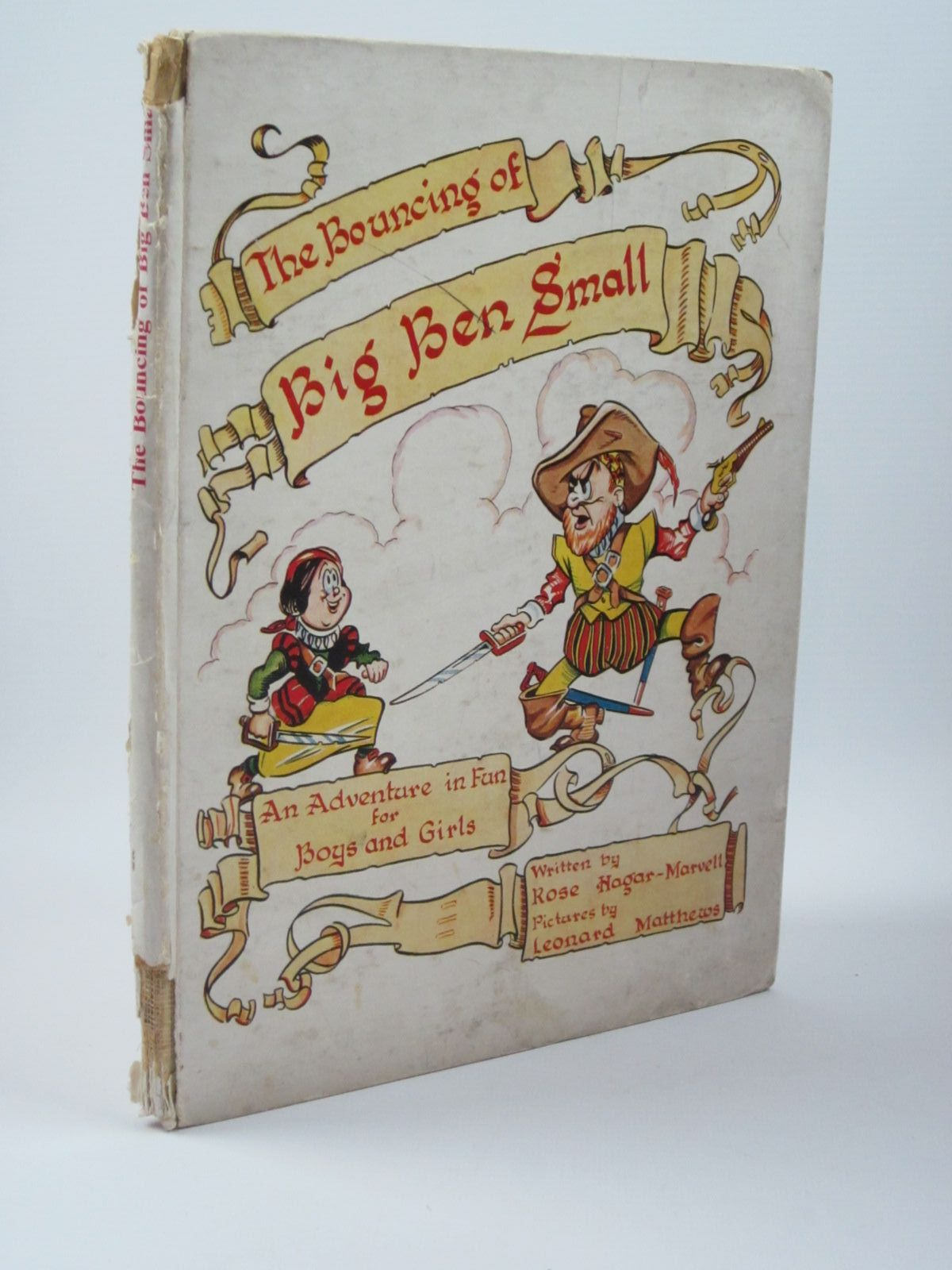 Photo of THE BOUNCING OF BIG BEN SMALL written by Hagar-Marvell, Rose illustrated by Matthews, Leonard published by T.V. Boardman & Company Limited (STOCK CODE: 1310046)  for sale by Stella & Rose's Books