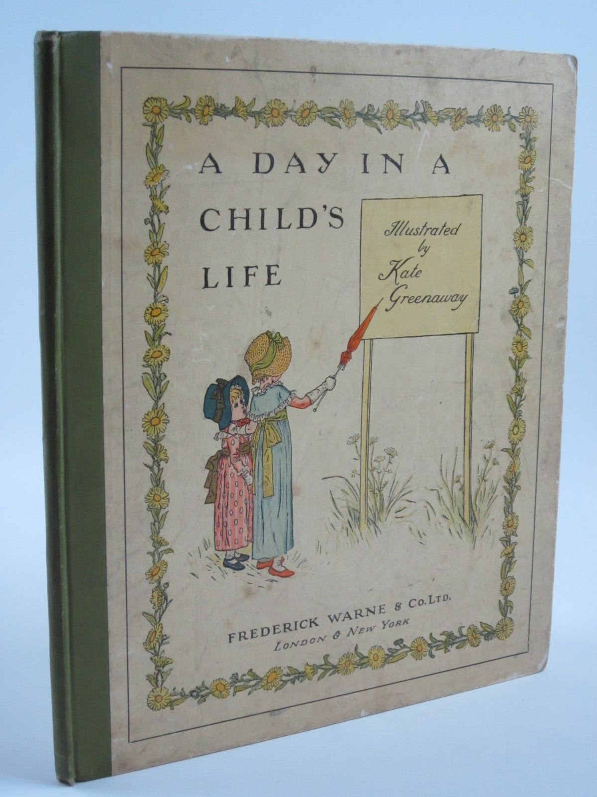 Photo of A DAY IN A CHILD'S LIFE written by Foster, Myles B. illustrated by Greenaway, Kate published by Frederick Warne & Co Ltd. (STOCK CODE: 1310073)  for sale by Stella & Rose's Books