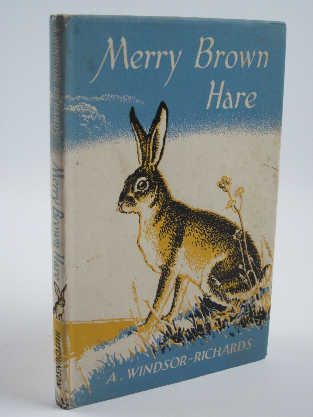 Photo of MERRY BROWN HARE written by Windsor-Richards, A. illustrated by Osmond, Edward published by Hutchinson of London (STOCK CODE: 1310202)  for sale by Stella & Rose's Books