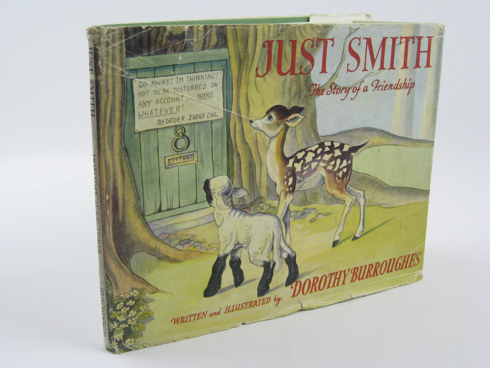 Photo of JUST SMITH written by Burroughes, Dorothy illustrated by Burroughes, Dorothy published by Hutchinson & Co. Ltd (STOCK CODE: 1310220)  for sale by Stella & Rose's Books