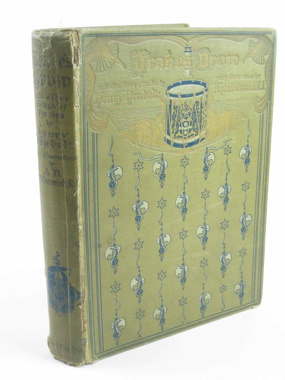 Photo of DRAKE'S DRUM AND OTHER SONGS OF THE SEA written by Newbolt, Henry illustrated by McCormick, A.D. published by Hodder & Stoughton (STOCK CODE: 1310240)  for sale by Stella & Rose's Books