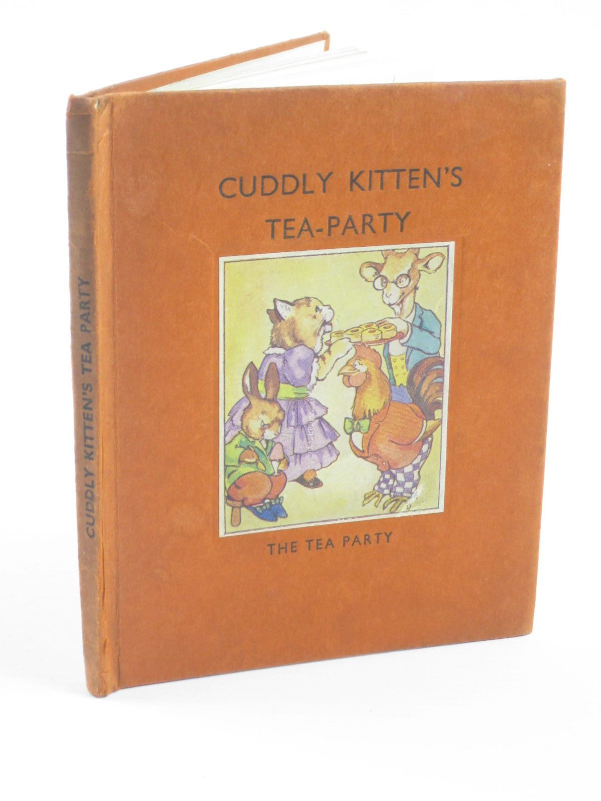 Photo of CUDDLY KITTEN'S TEA-PARTY published by Arandar Books Ltd. (STOCK CODE: 1310374)  for sale by Stella & Rose's Books