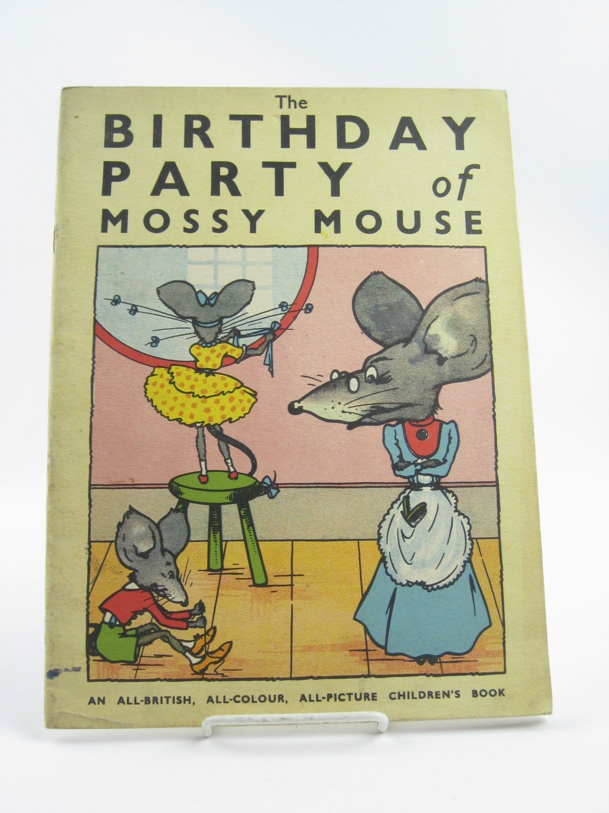 Photo of THE BIRTHDAY PARTY OF MOSSY MOUSE illustrated by Whibley, Doris published by McCorquodale & Co. (STOCK CODE: 1310443)  for sale by Stella & Rose's Books