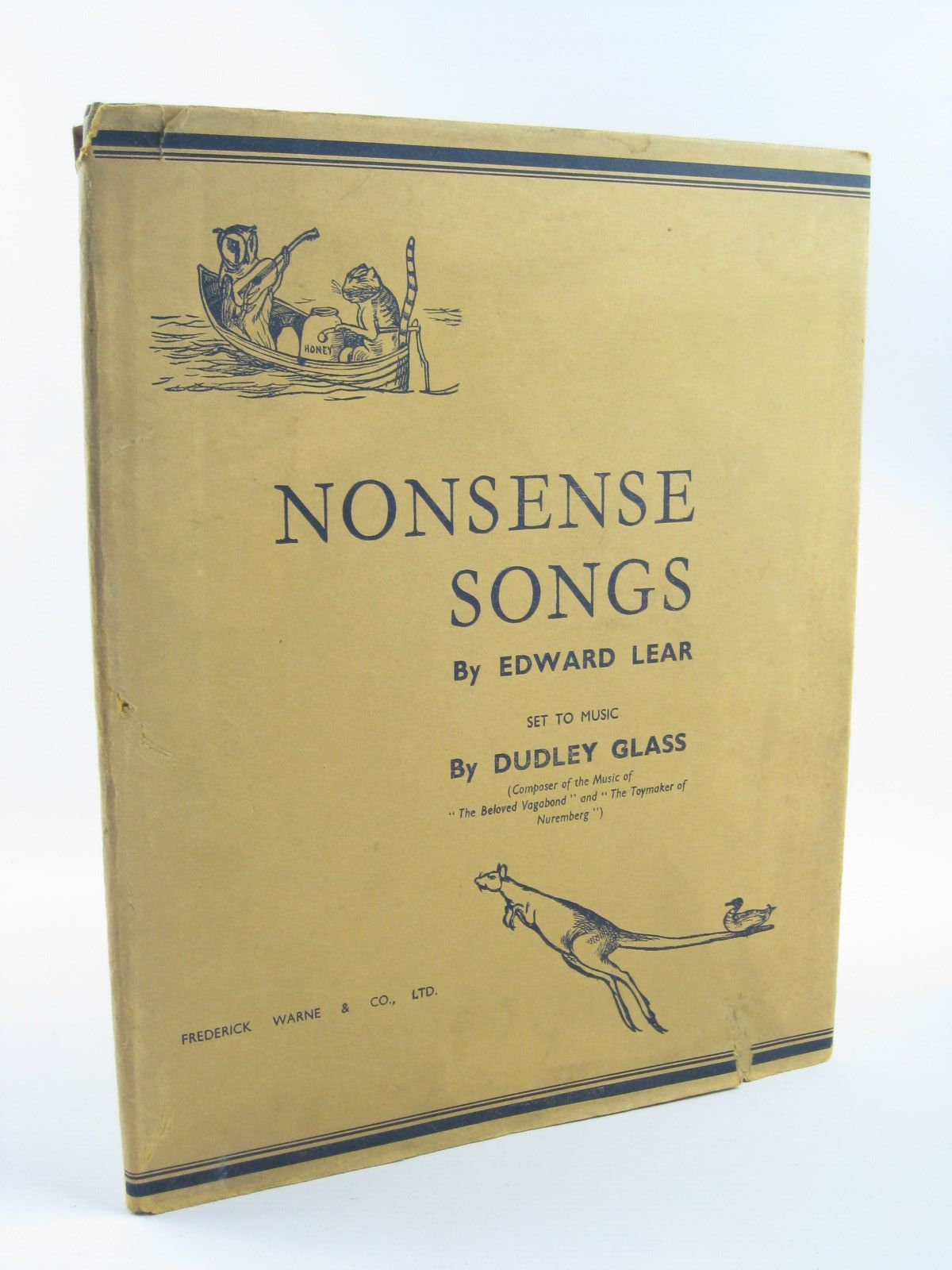 Photo of NONSENSE SONGS written by Lear, Edward<br />Glass, Dudley illustrated by Lear, Edward published by Frederick Warne & Co Ltd. (STOCK CODE: 1310444)  for sale by Stella & Rose's Books