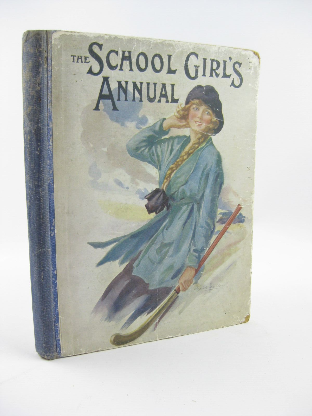 Photo of THE SCHOOL GIRL'S ANNUAL VOL II written by Klickmann, Flora illustrated by Wain, Louis<br />et al.,  published by The Religious Tract Society (STOCK CODE: 1310500)  for sale by Stella & Rose's Books