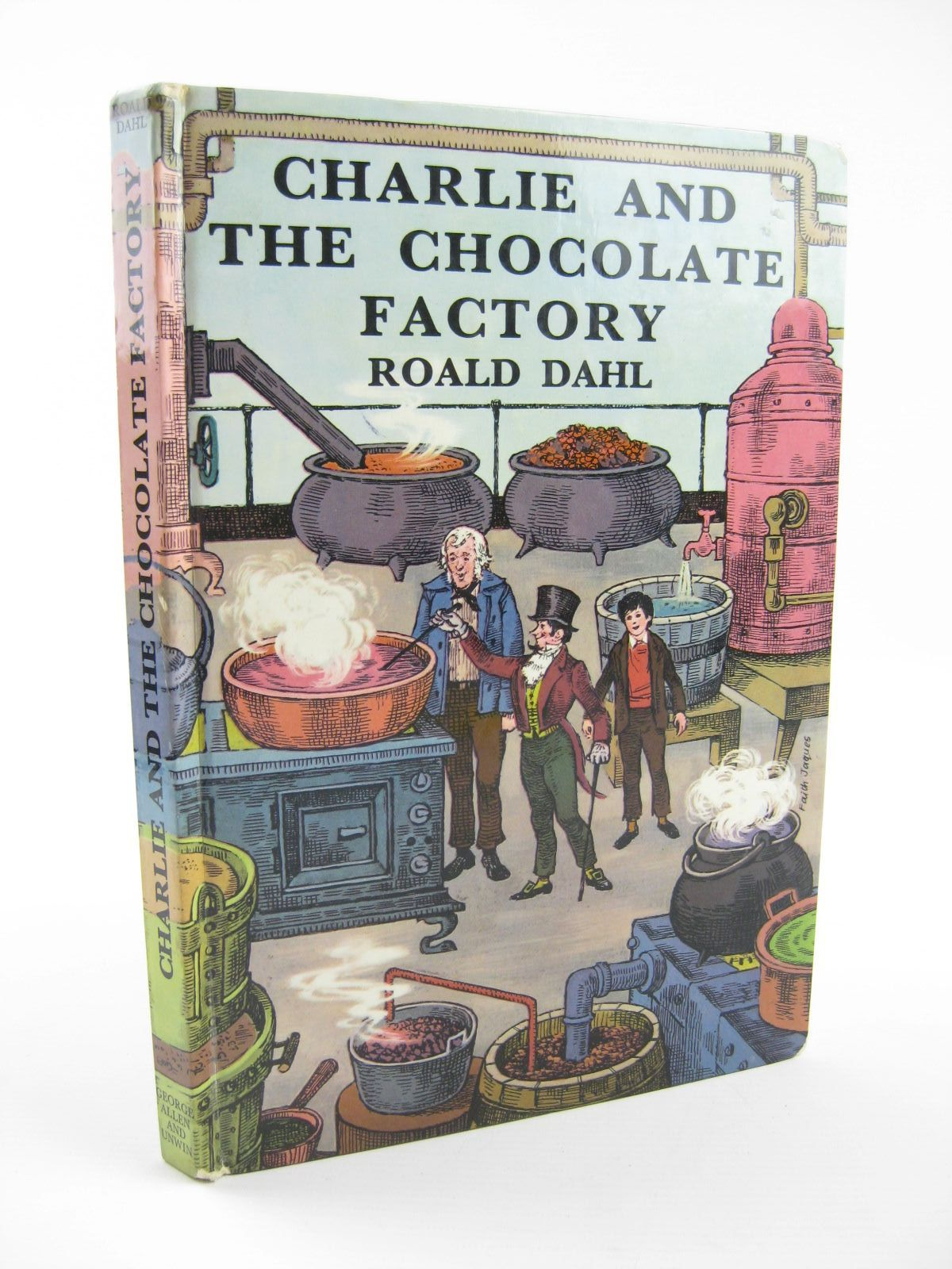 charlie and the chocolate factory written by dahl roald stock  photo of charlie and the chocolate factory written by dahl roald illustrated by jaques