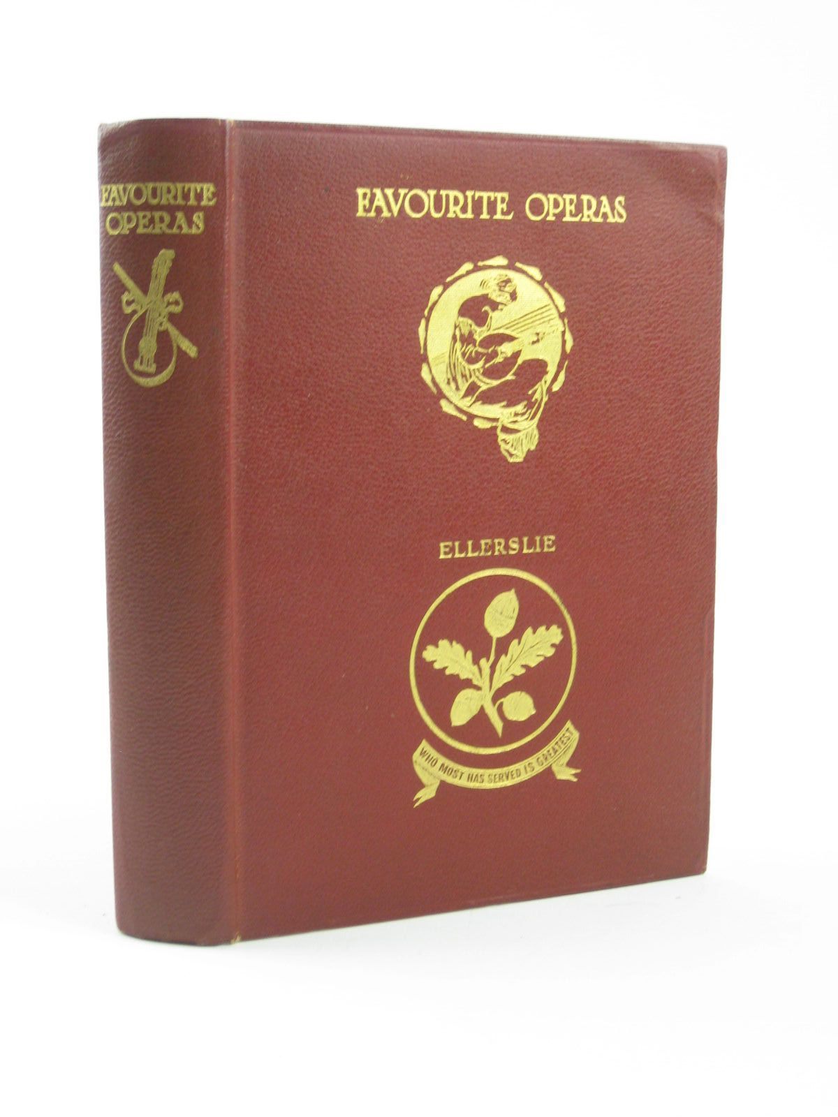 Photo of FAVOURITE OPERAS written by Hadden, J. Cuthbert illustrated by Shaw, Byam published by Thomas Nelson and Sons Ltd. (STOCK CODE: 1310624)  for sale by Stella & Rose's Books