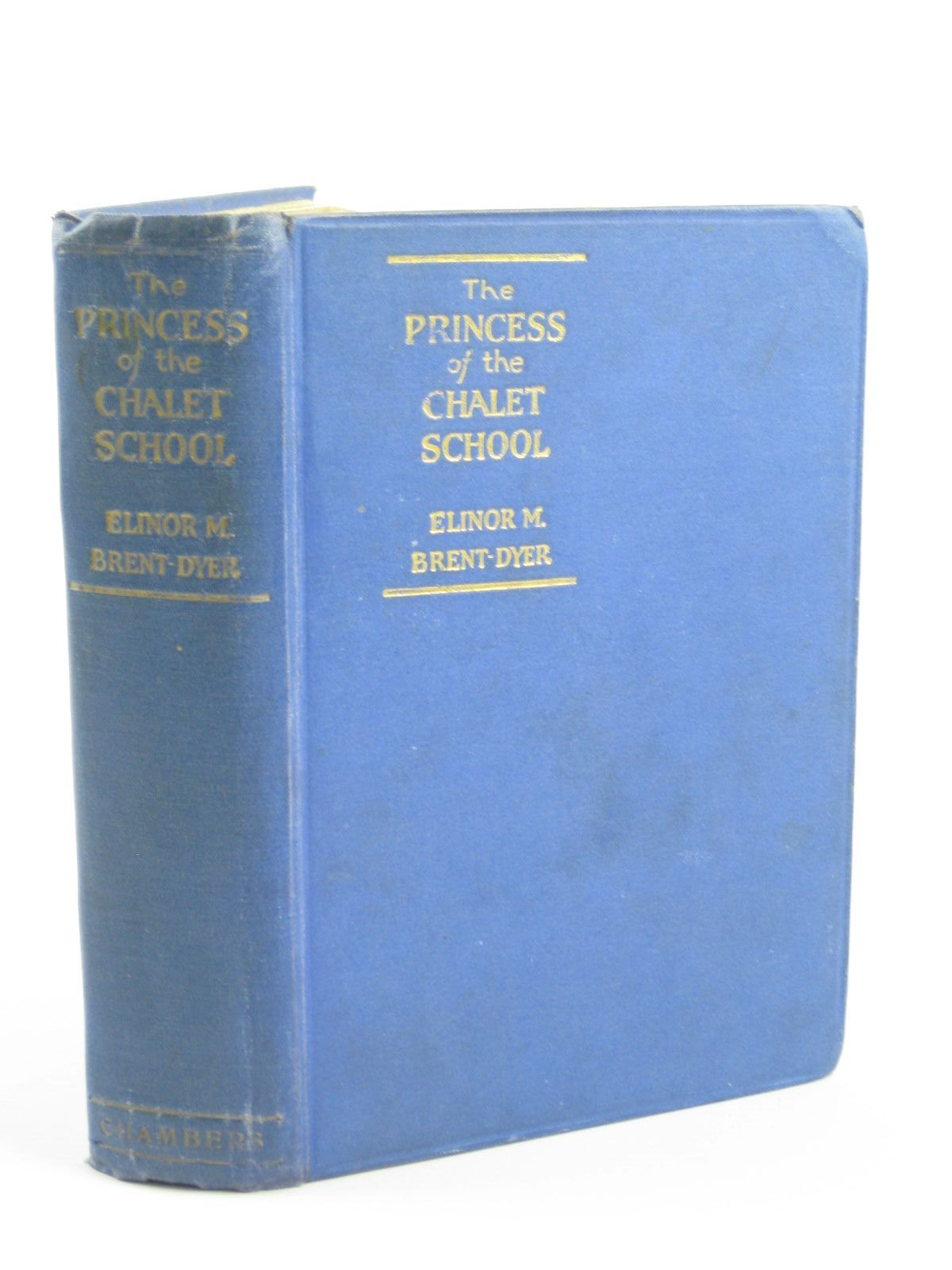 Photo of THE PRINCESS OF THE CHALET SCHOOL written by Brent-Dyer, Elinor M. illustrated by Brisley, Nina K. published by W. & R. Chambers Limited (STOCK CODE: 1310649)  for sale by Stella & Rose's Books