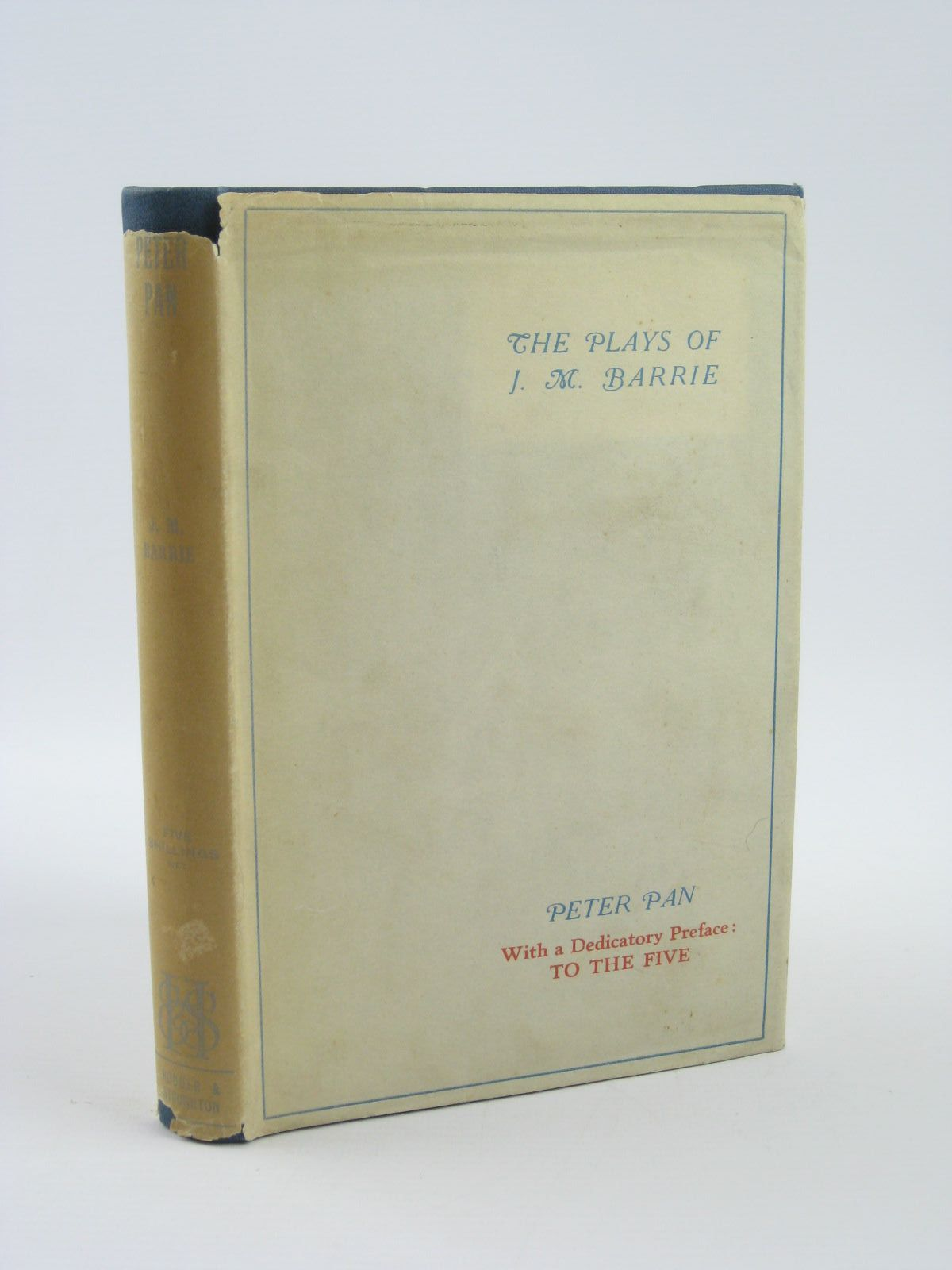 Photo of PETER PAN written by Barrie, J.M. published by Hodder & Stoughton (STOCK CODE: 1310691)  for sale by Stella & Rose's Books