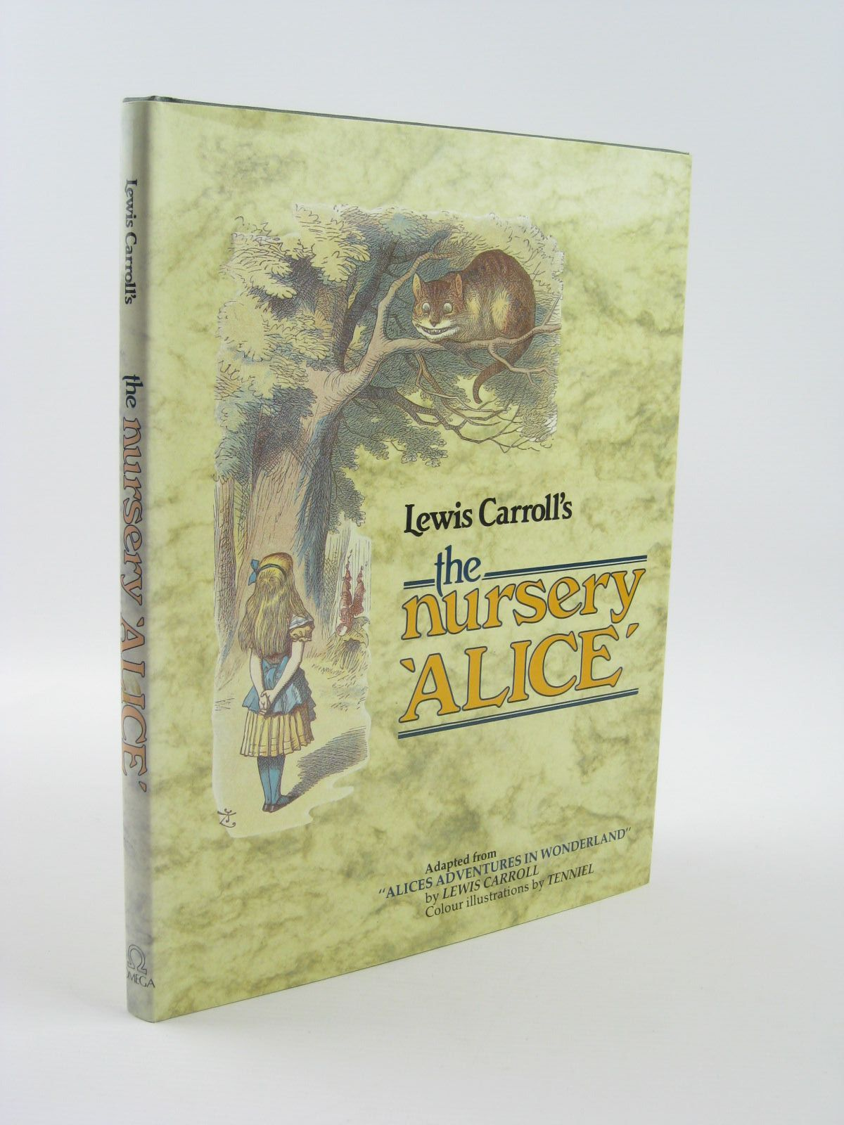 Photo of THE NURSERY ALICE written by Carroll, Lewis illustrated by Tenniel, John published by Omega Books (STOCK CODE: 1310813)  for sale by Stella & Rose's Books