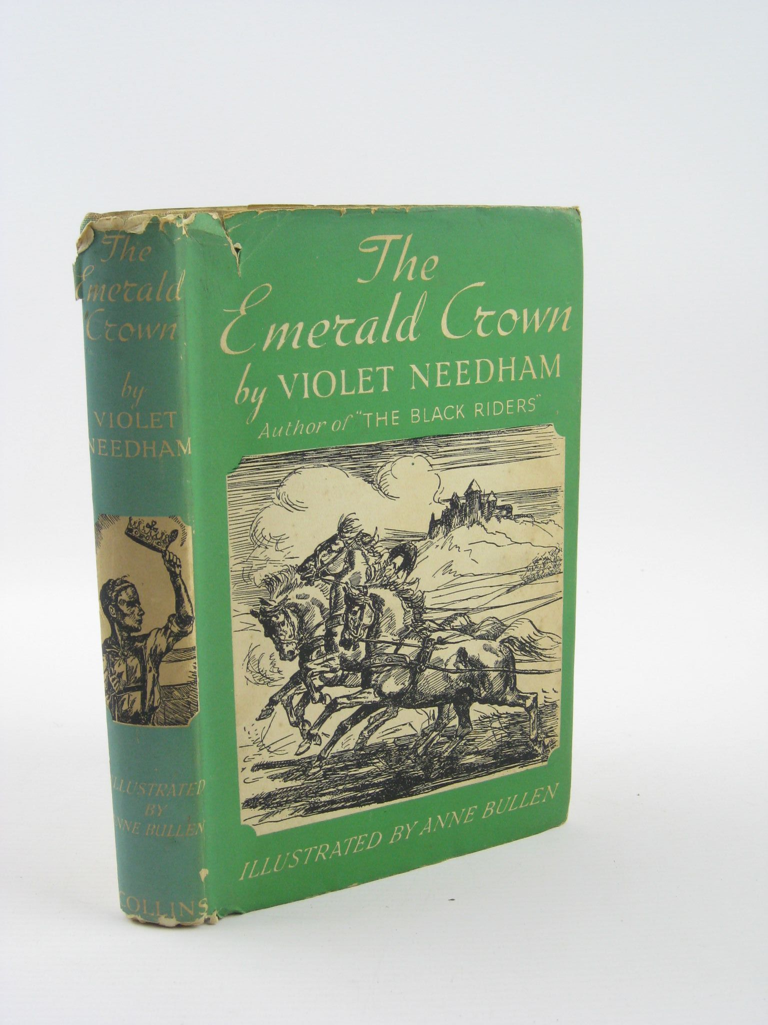 Photo of THE EMERALD CROWN written by Needham, Violet illustrated by Bullen, Anne published by Collins (STOCK CODE: 1310872)  for sale by Stella & Rose's Books