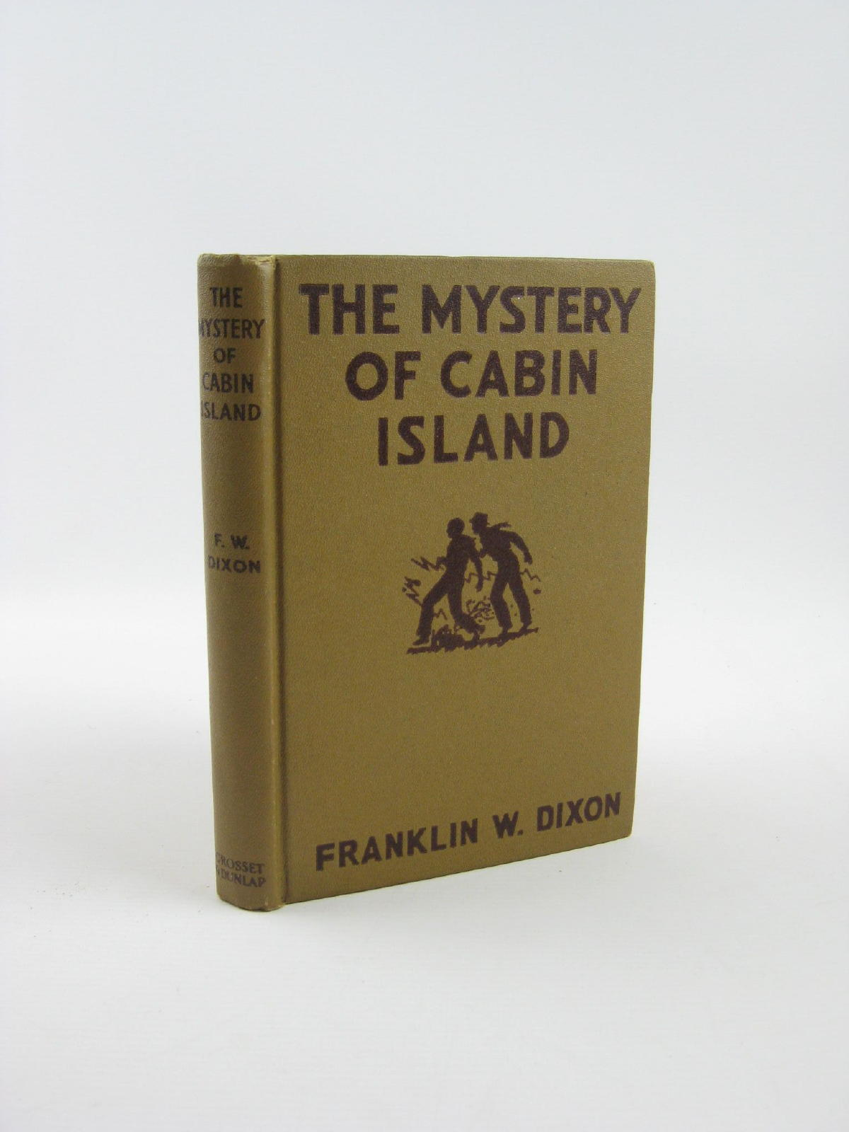 Photo of THE MYSTERY OF CABIN ISLAND written by Dixon, Franklin W. published by Grosset & Dunlap (STOCK CODE: 1310885)  for sale by Stella & Rose's Books