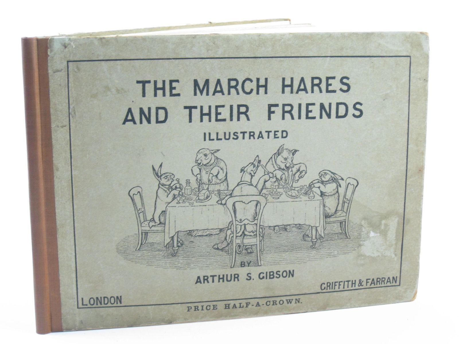 Photo of THE MARCH HARES AND THEIR FRIENDS written by Gibson, Arthur S. illustrated by Gibson, Arthur S. published by Griffith and Farran (STOCK CODE: 1310968)  for sale by Stella & Rose's Books