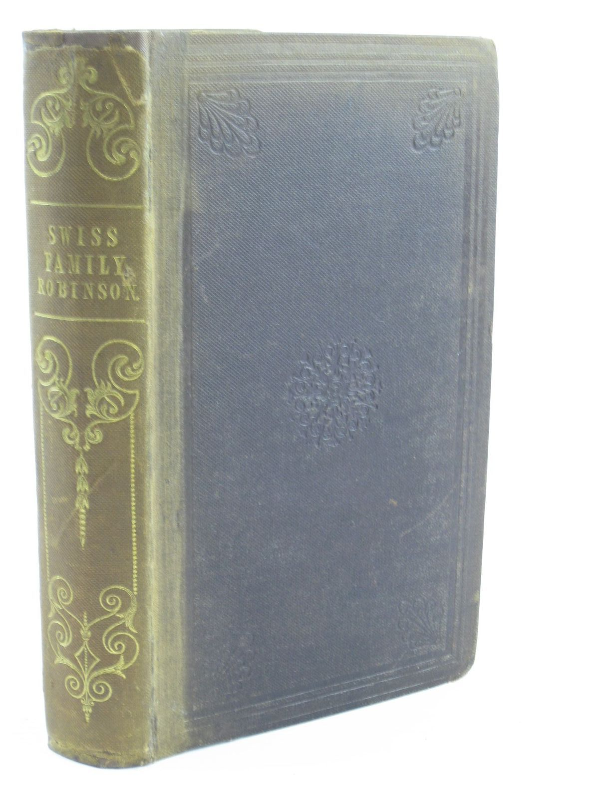 Photo of THE SWISS FAMILY ROBINSON written by Wyss, Johann David published by Simpkin, Marshall & Co., Whittaker & Co., Houlston and Stoneman (STOCK CODE: 1310975)  for sale by Stella & Rose's Books