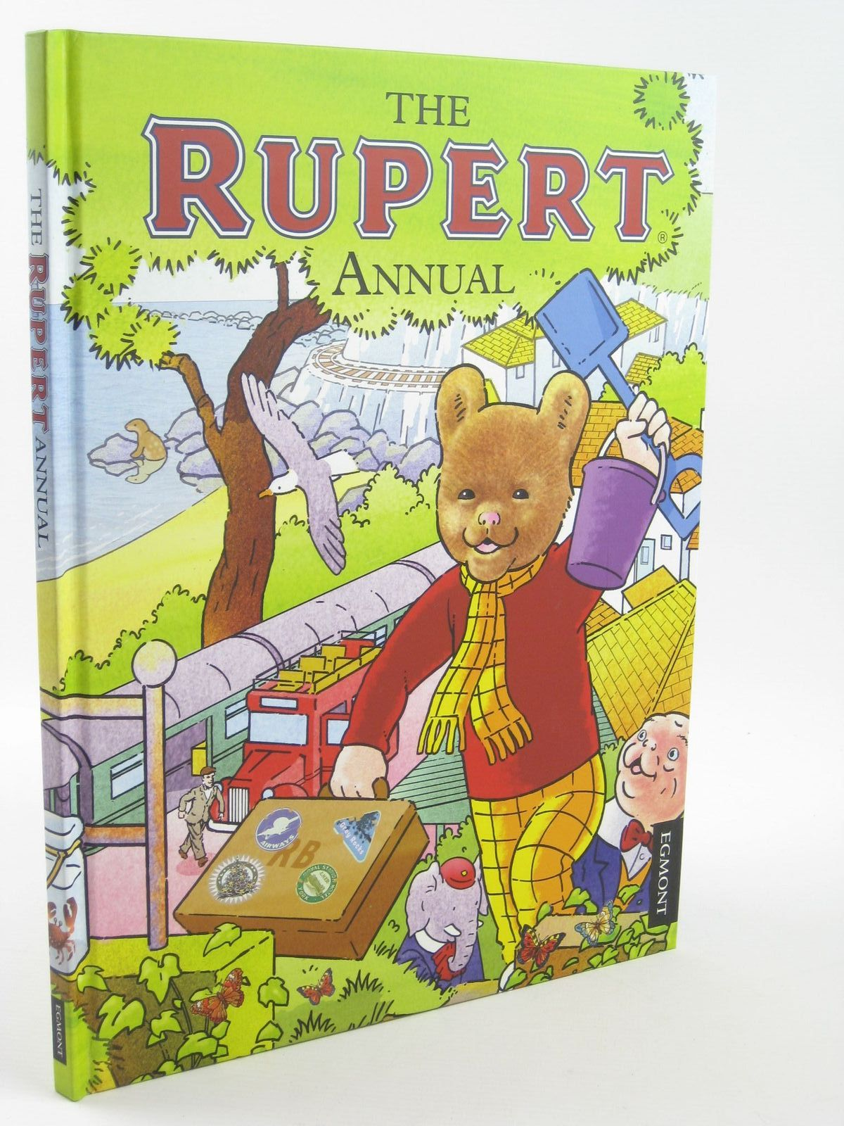 Photo of RUPERT ANNUAL 2012 written by Harwood, Beth<br />Trotter, Stuart illustrated by Trotter, Stuart<br />Bestall, Alfred published by Egmont Uk Limited (STOCK CODE: 1311017)  for sale by Stella & Rose's Books