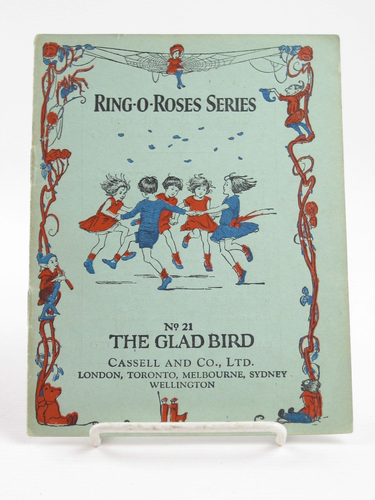 Photo of THE GLAD BIRD illustrated by Cowham, Hilda published by Cassell & Co. Ltd. (STOCK CODE: 1311124)  for sale by Stella & Rose's Books