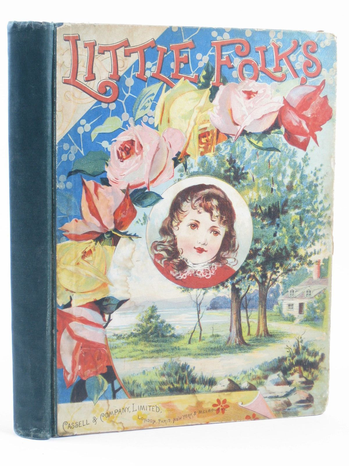 Photo of LITTLE FOLKS VOL 25 illustrated by Wain, Louis<br />et al., published by Cassell & Company Limited (STOCK CODE: 1311173)  for sale by Stella & Rose's Books