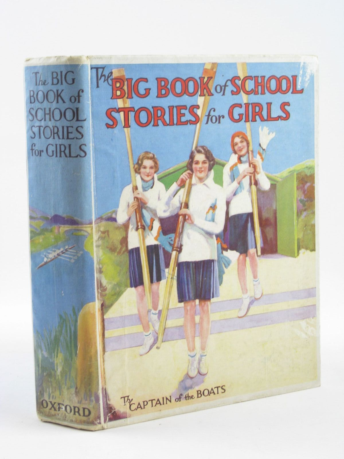 Photo of THE BIG BOOK OF SCHOOL STORIES FOR GIRLS written by Strang, Mrs. Herbert<br />Simms, Evelyn<br />Moore, Dorothea<br />Elder, Josephine<br />McAlpine, Jessie<br />et al, illustrated by Johnston, M.D.<br />Cuneo,<br />Lodge, Grace<br />et al., published by Oxford University Press, Humphrey Milford (STOCK CODE: 1311209)  for sale by Stella & Rose's Books