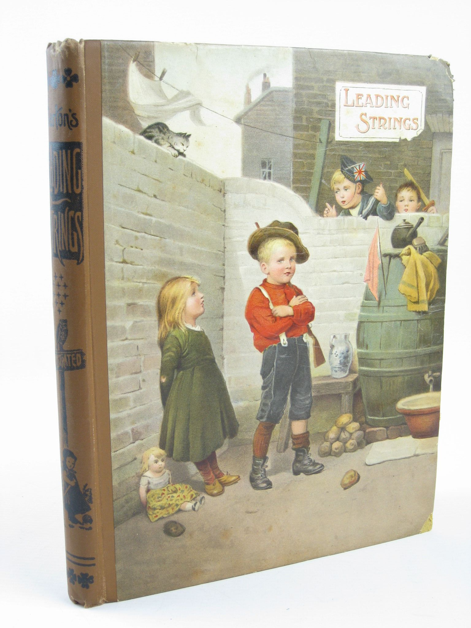 Photo of LEADING STRINGS published by Wells Gardner, Darton & Co. (STOCK CODE: 1311258)  for sale by Stella & Rose's Books