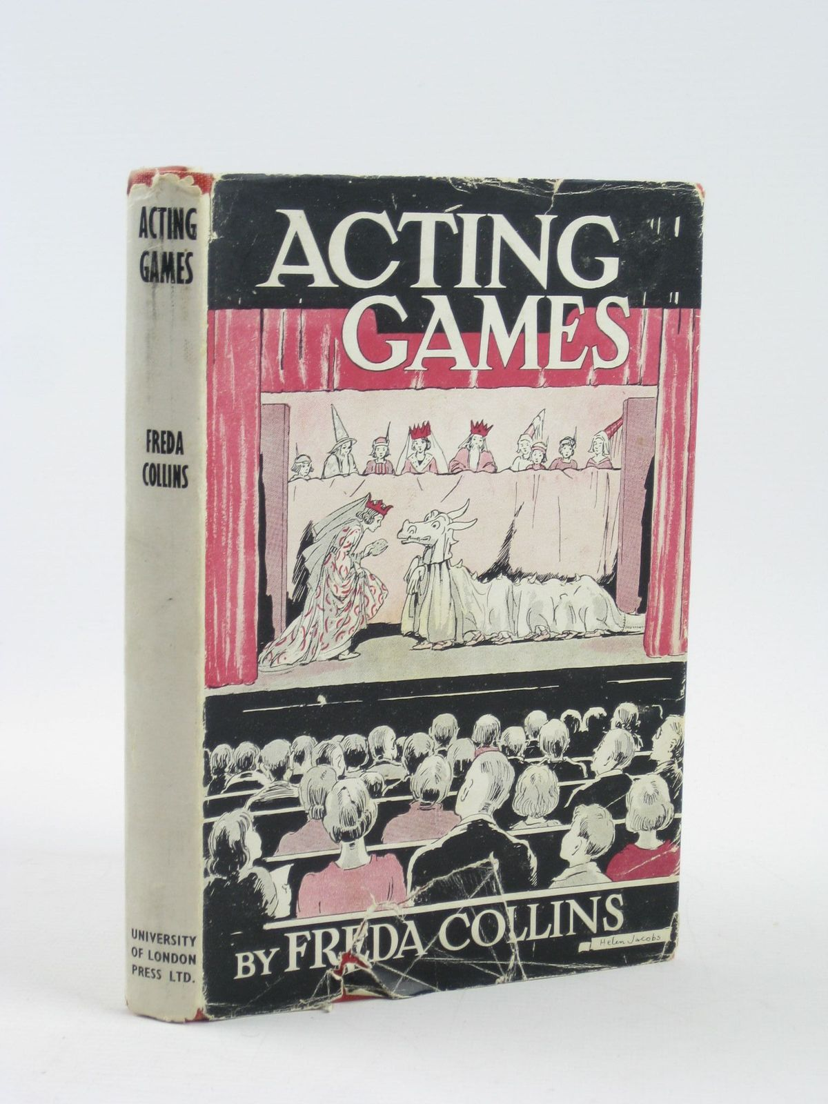Photo of ACTING GAMES written by Collins, Freda illustrated by Jacobs, Helen<br />et al., published by University of London Press Ltd. (STOCK CODE: 1311306)  for sale by Stella & Rose's Books