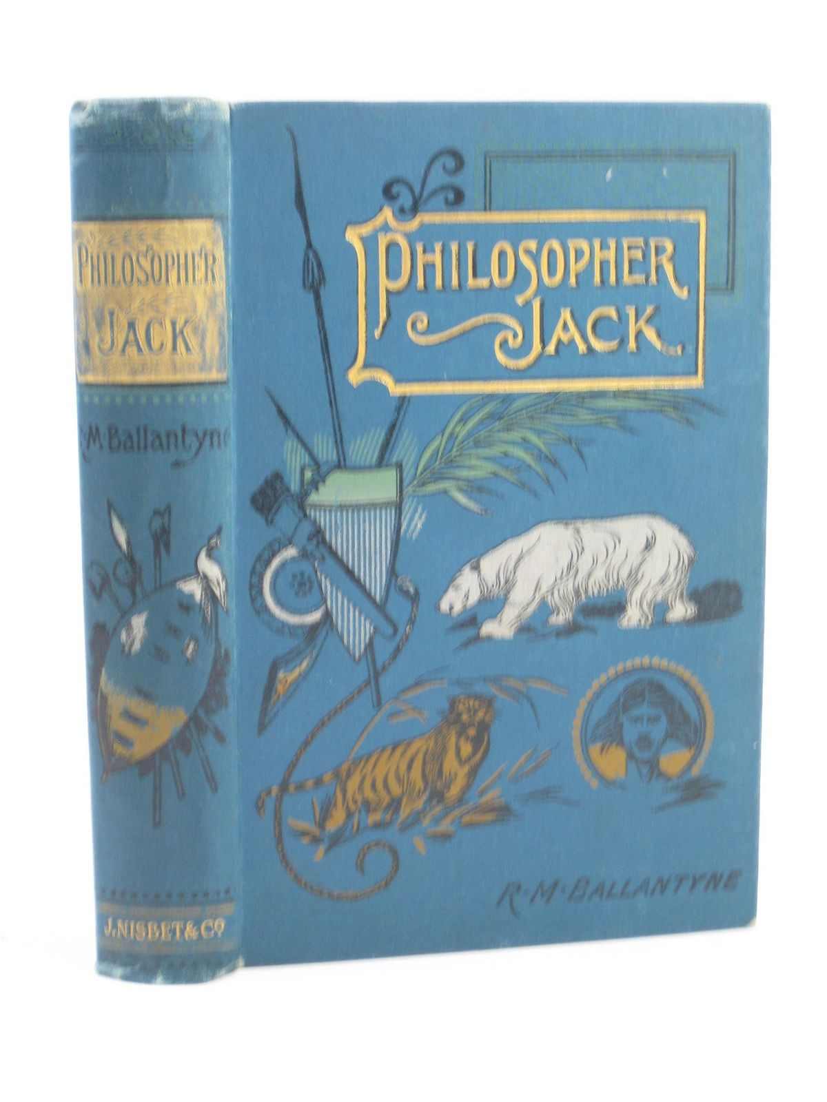 Photo of PHILOSOPHER JACK written by Ballantyne, R.M. published by James Nisbet & Co. Limited (STOCK CODE: 1311356)  for sale by Stella & Rose's Books