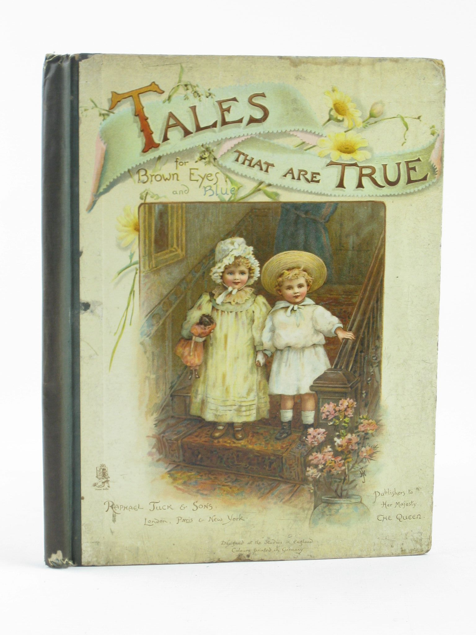 Photo of TALES THAT ARE TRUE FOR BROWN EYES AND BLUE written by Nesbit, E.<br />Woolf, B.Sidney<br />Scannell, Florence<br />et al,  illustrated by Goodman, Maude<br />Horwitz, Herbert<br />Bowley, May<br />et al.,  published by Raphael Tuck & Sons (STOCK CODE: 1311369)  for sale by Stella & Rose's Books