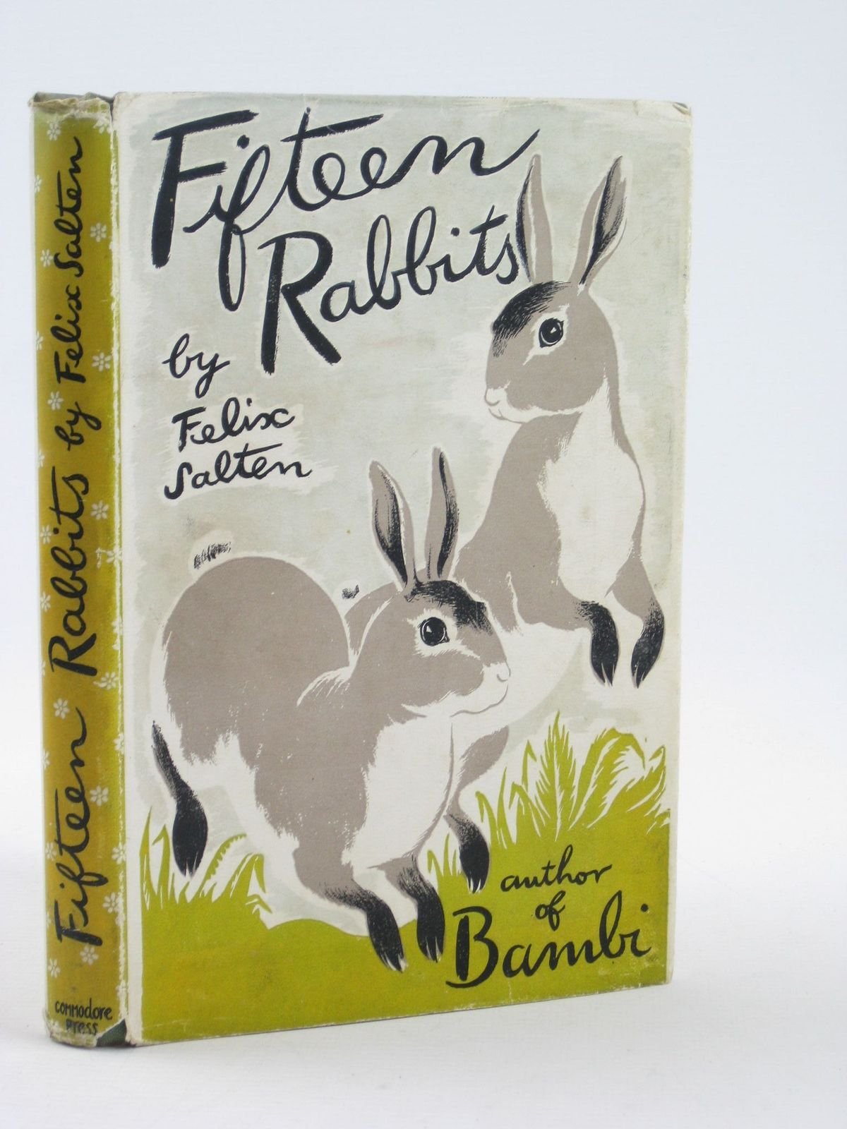 Photo of FIFTEEN RABBITS written by Salten, Felix<br />Chambers, Whittaker illustrated by Dunn, Sheila published by The Commodore Press (STOCK CODE: 1311402)  for sale by Stella & Rose's Books